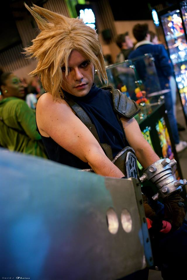 Me cosplaying Cloud Strife, again by Paxfield