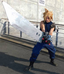 Cloud Strife, cosplay by me by Paxfield