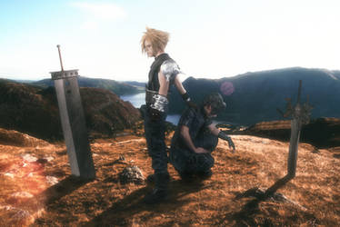 Dissidia NT: Cloud and Noctis by Paxfield
