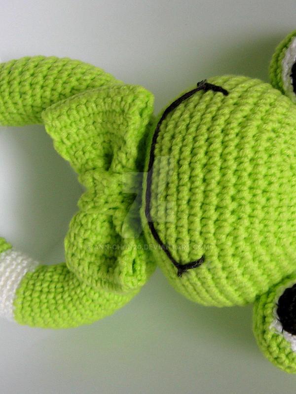 Frog - amigurumi by ann-chan20