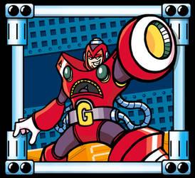 Gravity Man - Mega Man Meme