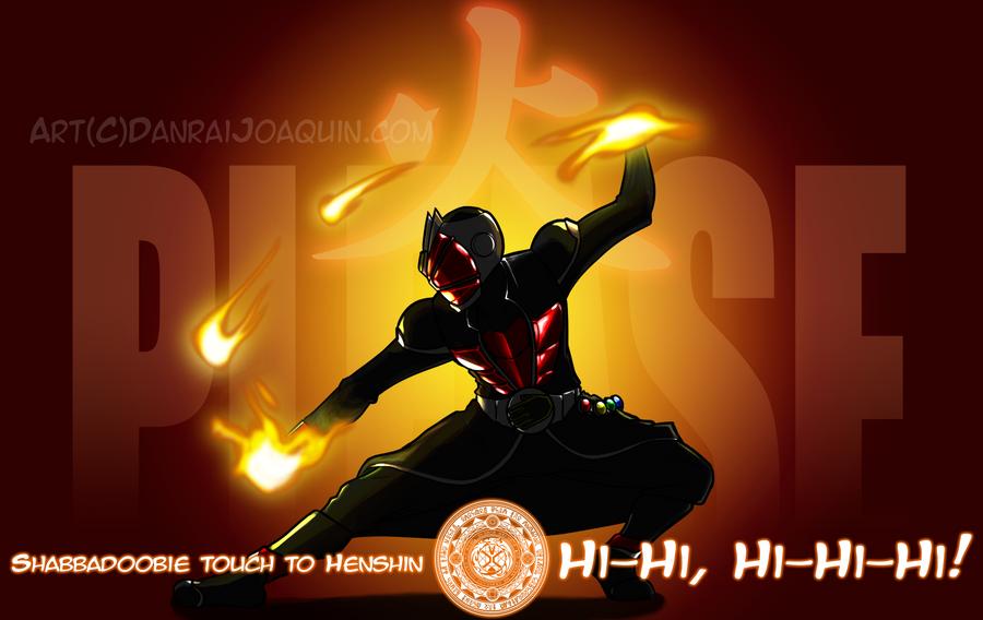 Kamen Rider Wizard - Firebending Style by DanraiJoaquin