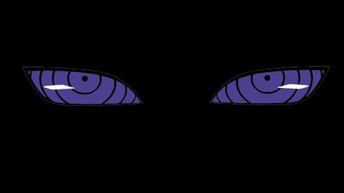 rinnegan and sharingan eyes