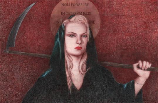 Portrait of Zeena as Angel of Death