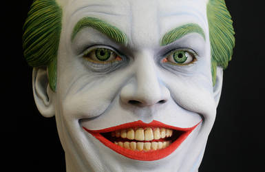 Jack Nicholson Joker Lifesize by FatBoyStudios