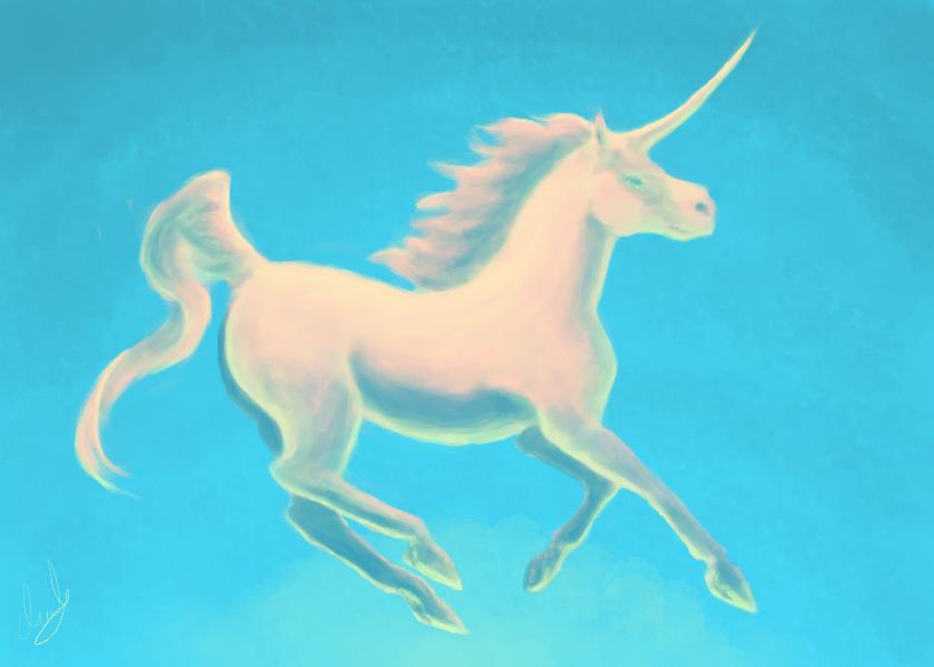 unicorn by Minkja