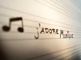 j'adore musique by lecairde