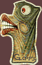 The big lips - mosaic