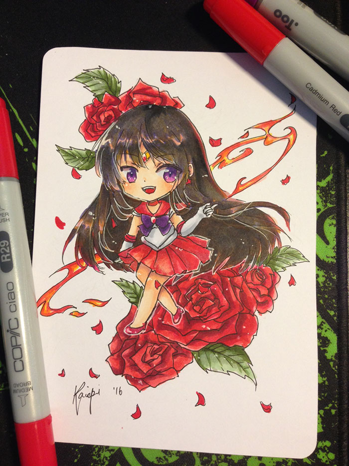 mars copic ignite! by Kaiapi