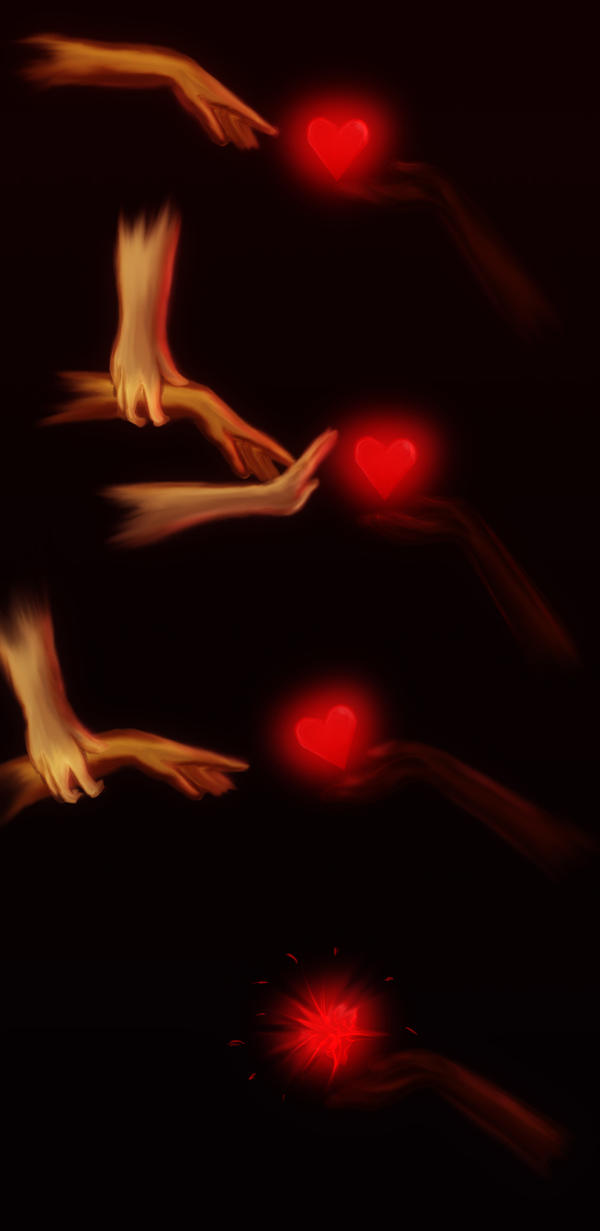 Keep my heart safe. No? by trishna87
