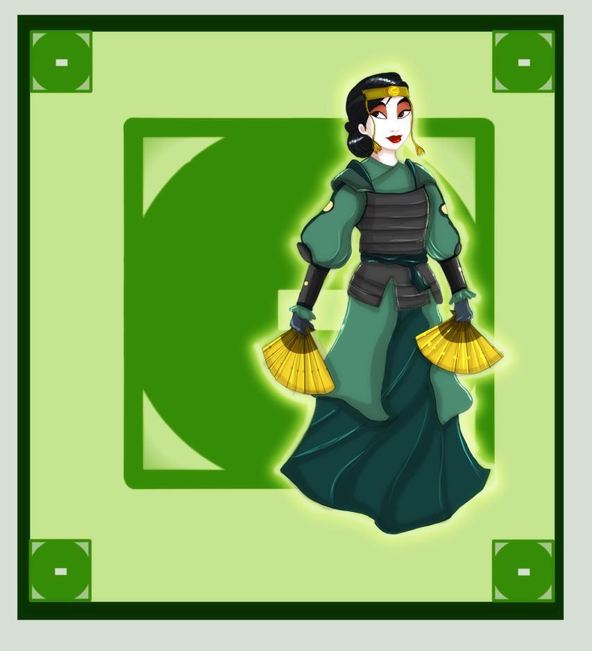 Disney Benders : Mulan by trishna87