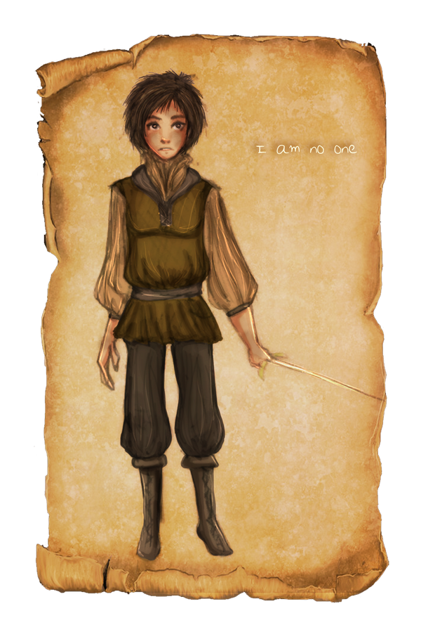 Arya Stark - I am no one by trishna87