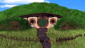 Hobbit house 3D