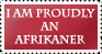 Proudly Afrikaans Stamp by Sea-Sapphire
