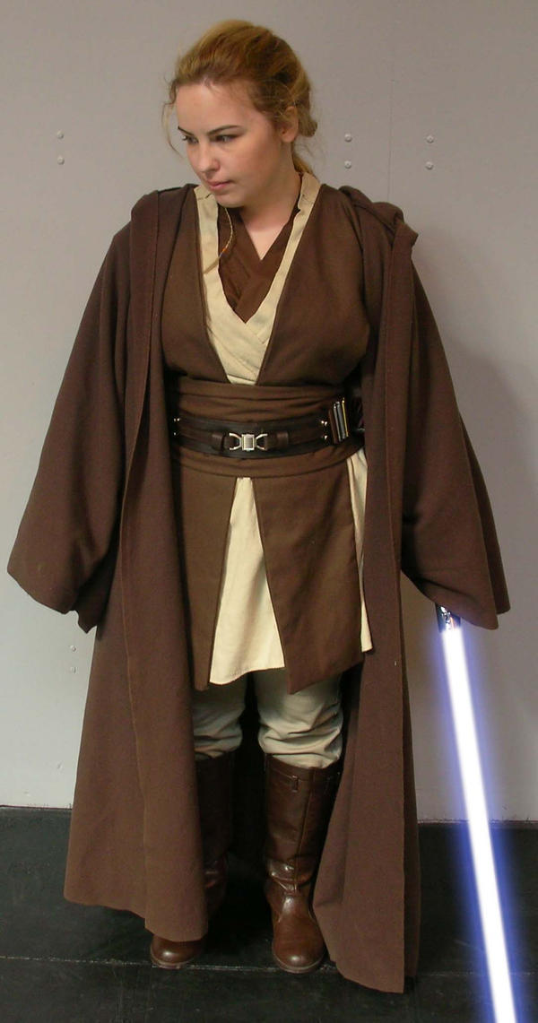 Jedi Costume by FrannyBunny on DeviantArt