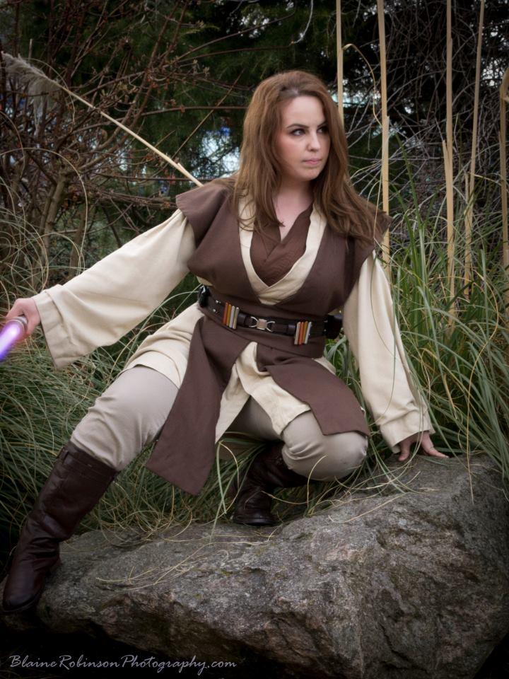 Jedi Costume by FrannyBunny