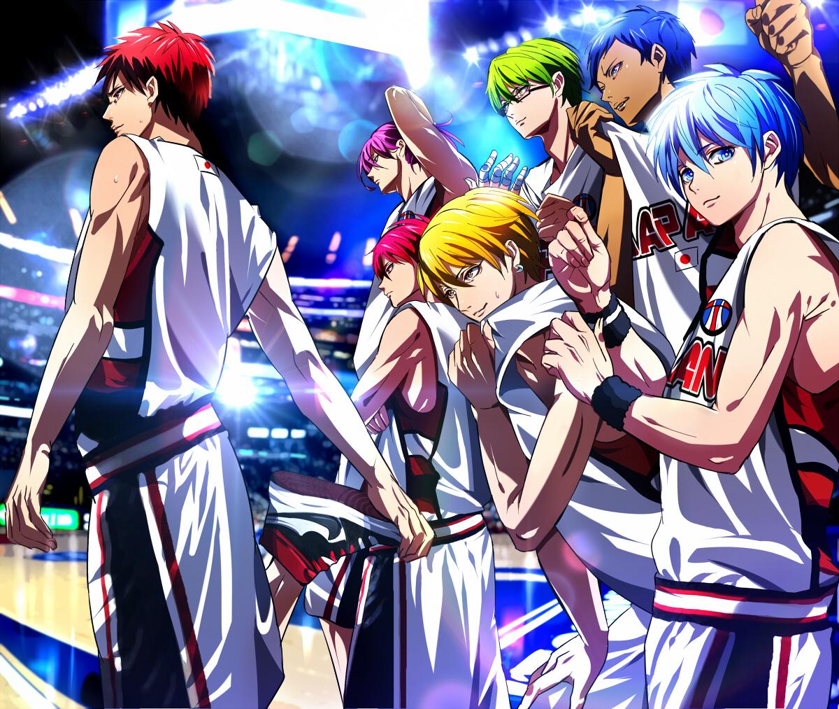 Kuroko S Basketball Season 2 Tagalog Version: KnB National Team