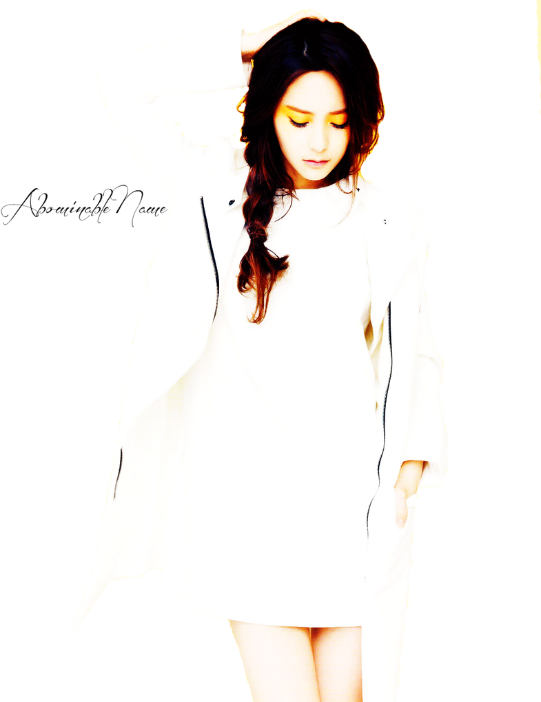 Krystal Jung PNG by AbominableName on DeviantArt