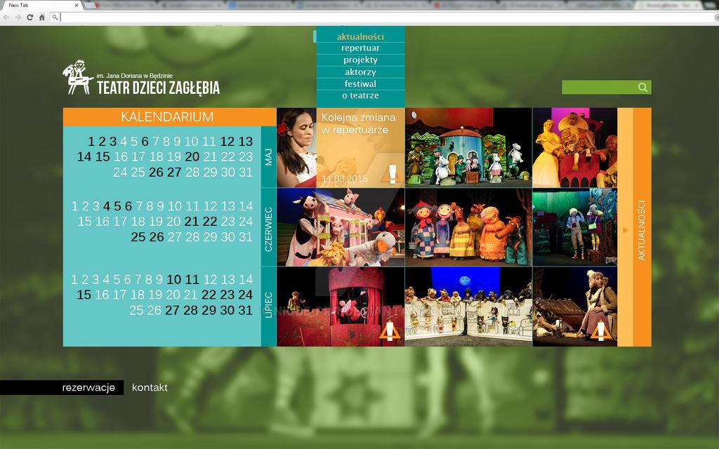 Teatr Dzieci Zaglebia - aktualnosci