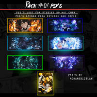 Pack psd's #01 by Mohamed123law