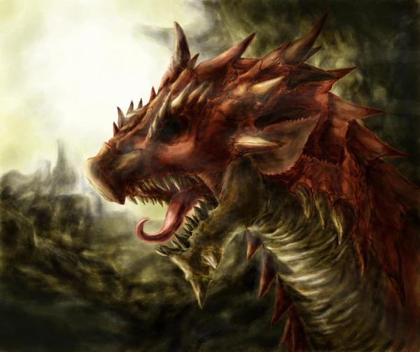 Monster hunter - Rathalos by Daniel-09