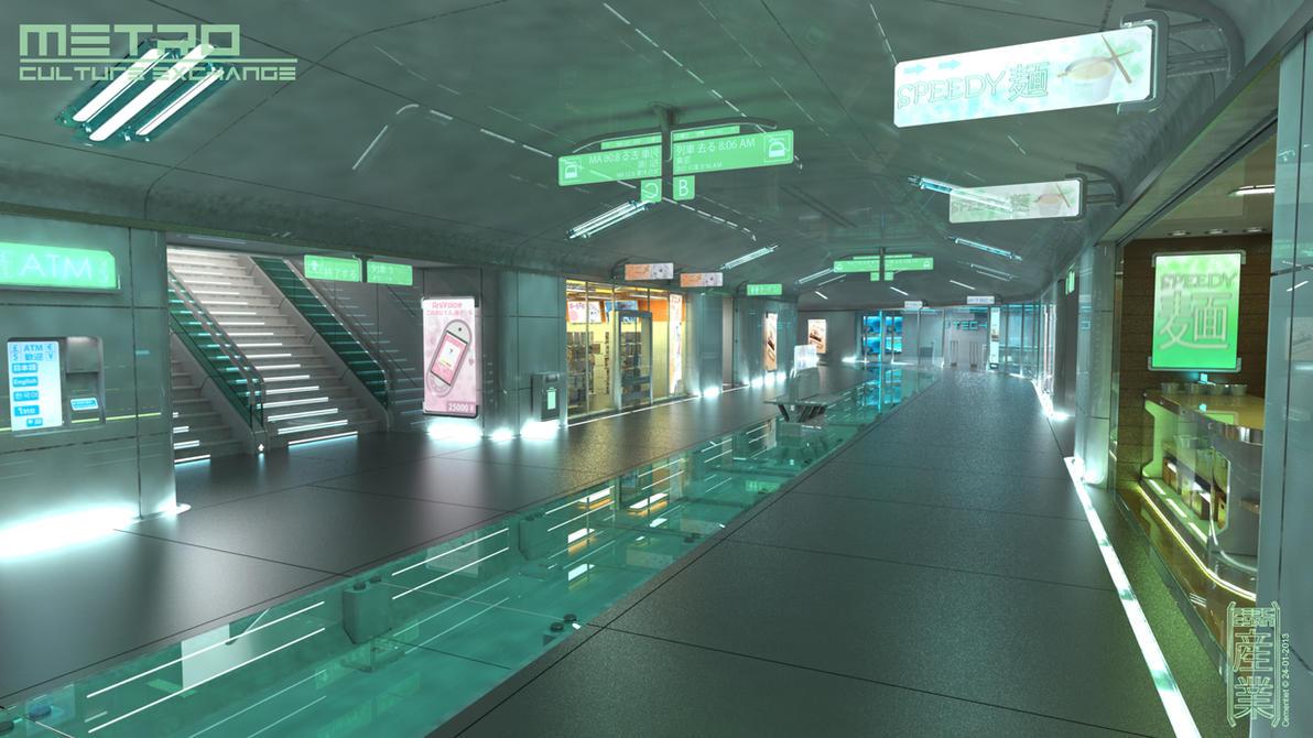 Metro by Cementiet