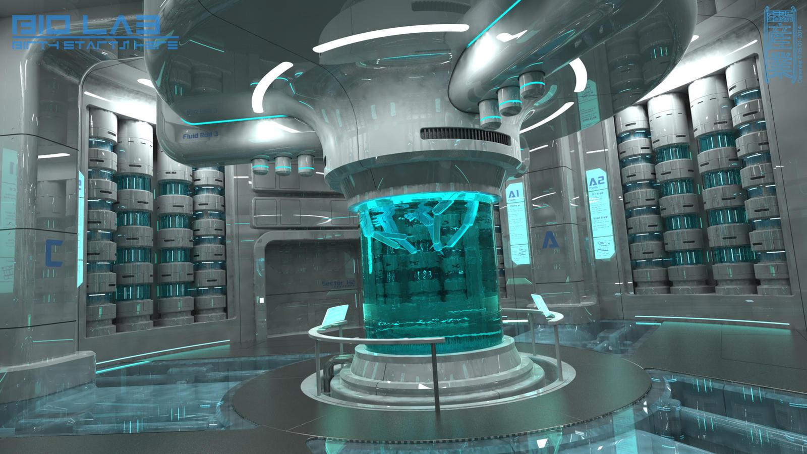 Bio Lab by Cementiet