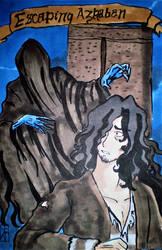 Escaping Azkaban-cover by neko-comix