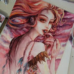 Morning Muse (low quality pic) by Curubysorai