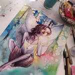 Latest painting update by Curubysorai