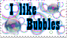 I like bubbles stamp by xKillerxCadillac