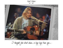Kurt Cobain by Maxa666