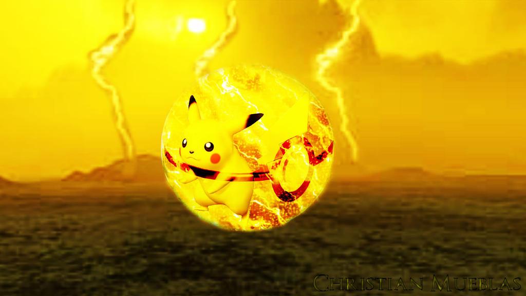 Pikachus Pokeball By Dragonman342