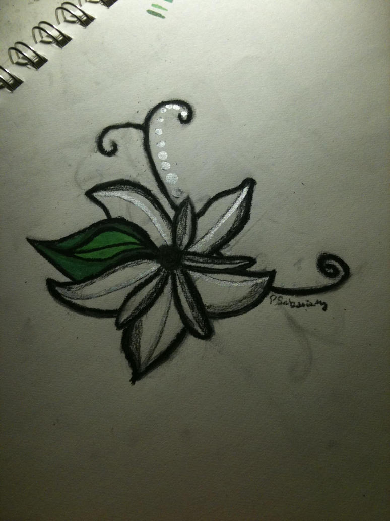 Flower Tattoo by psaksinsky on deviantART