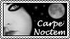 Carpe Noctem Stamp by Saphira01