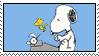Snoopy Writer by HanaKiriStamp