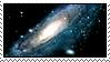 M31: Andromeda Galaxy by HanaKiriStamp
