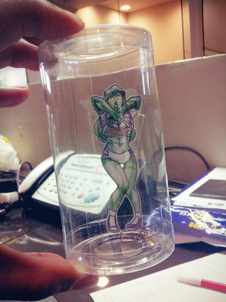 SheHulk in a Jar by SetaGila