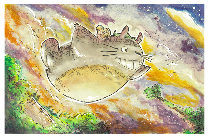 I present to you Totoro by SetaGila