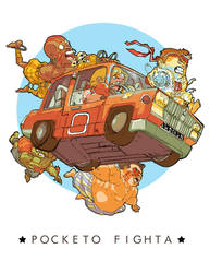Pocketo Fighta by SetaGila