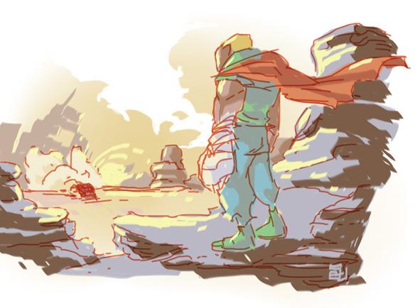 #Desert Hero by SetaGila