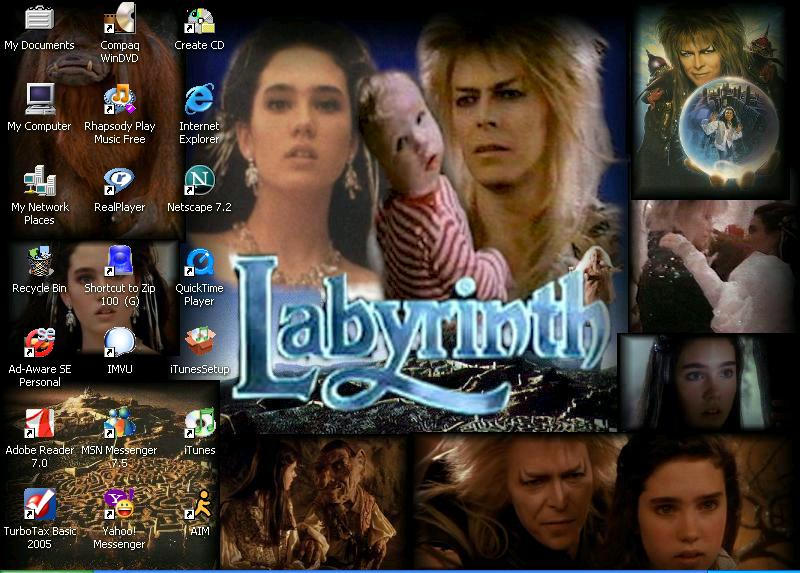Labyrinth screenshot by Cara-Doughnut-Lady