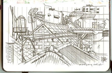 mampang roof top by davrozz