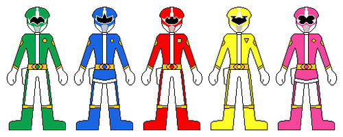 Power Rangers. Guardians of Harmony by hs11-art