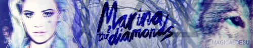 Marina and the Diamonds [firma] by AddeyArmstrong