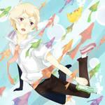 Haru from Tsuritama Ep. 9