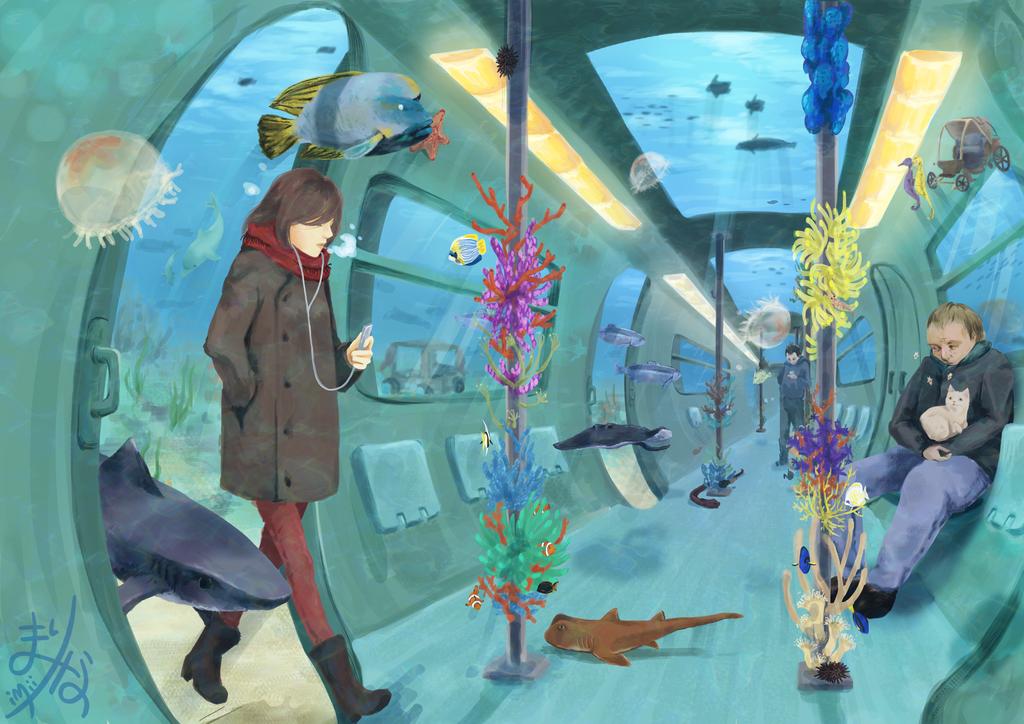 Aqua train by iMii-s