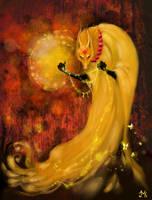 heart of shaman autumn by Uruno-Morlith