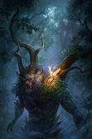 Forest keeper by Uruno-Morlith