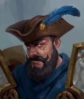 Kul Tiran Warrior Commission by Uruno-Morlith